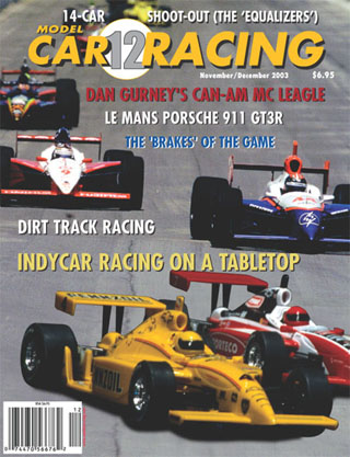 MCR12 Model Car Racing Magazine, Nov. / Dec. 2003