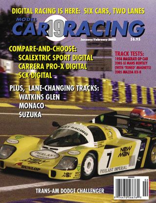 MCR19 Model Car Racing Magazine, Jan/Feb 2005 (C)