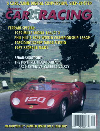 MCR25 Model Car Racing Magazine, Jan. / Feb.. 2006