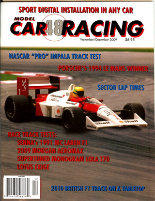 MCR48 Model Car Racing Magazine, Nov./Dec. 2009