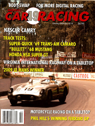 MCR49 Model Car Racing Magazine, Jan. / Feb. 2010