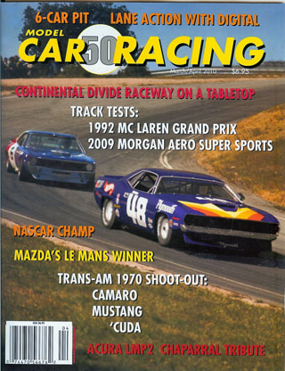 MCR50 Model Car Racing Magazine, March/April 2010