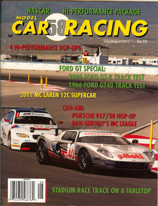 MCR58 Model Car Racing Magazine, July/August 2011