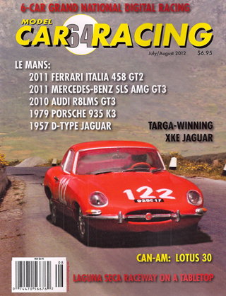 MCR64 Model Car Racing Magazine, July/August 2012