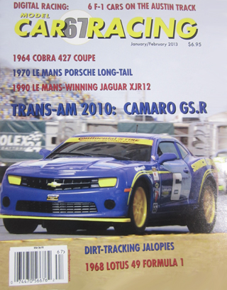 MCR67 Model Car Racing Magazine, January-February 2013