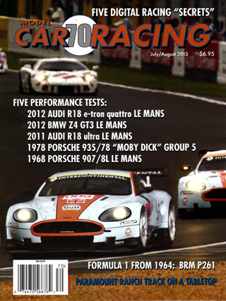 MCR70 Model Car Racing Magazine, July-August 2013