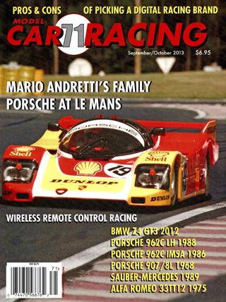 MCR71 Model Car Racing Magazine, September/October 2013