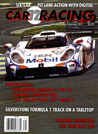 MCR72 Model Car Racing Magazine, November/December 2013