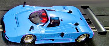 MRSlotcar MR1005B Mazda 787B RTR, blue
