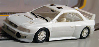 MSC 6008 Subaru WRC white kit