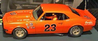 Pioneer P013 67 Camaro, orange. Preorder now!
