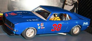 Pioneer P014 67 Camaro, blue. Preorder now!