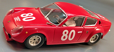 PSK 009/1 Abarth Simca 200TC. red