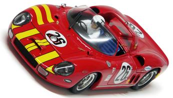 Racer RCR39 Ferrari 330P, Sebring 1965