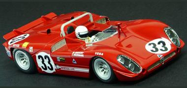 Racer RCR60C Alfa Romeo 33/3, Sebring 1970 #33