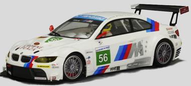 Scale Auto SC7036 BMW M3 GTR GT2, #56,LeMans 2011. 1/24 scale