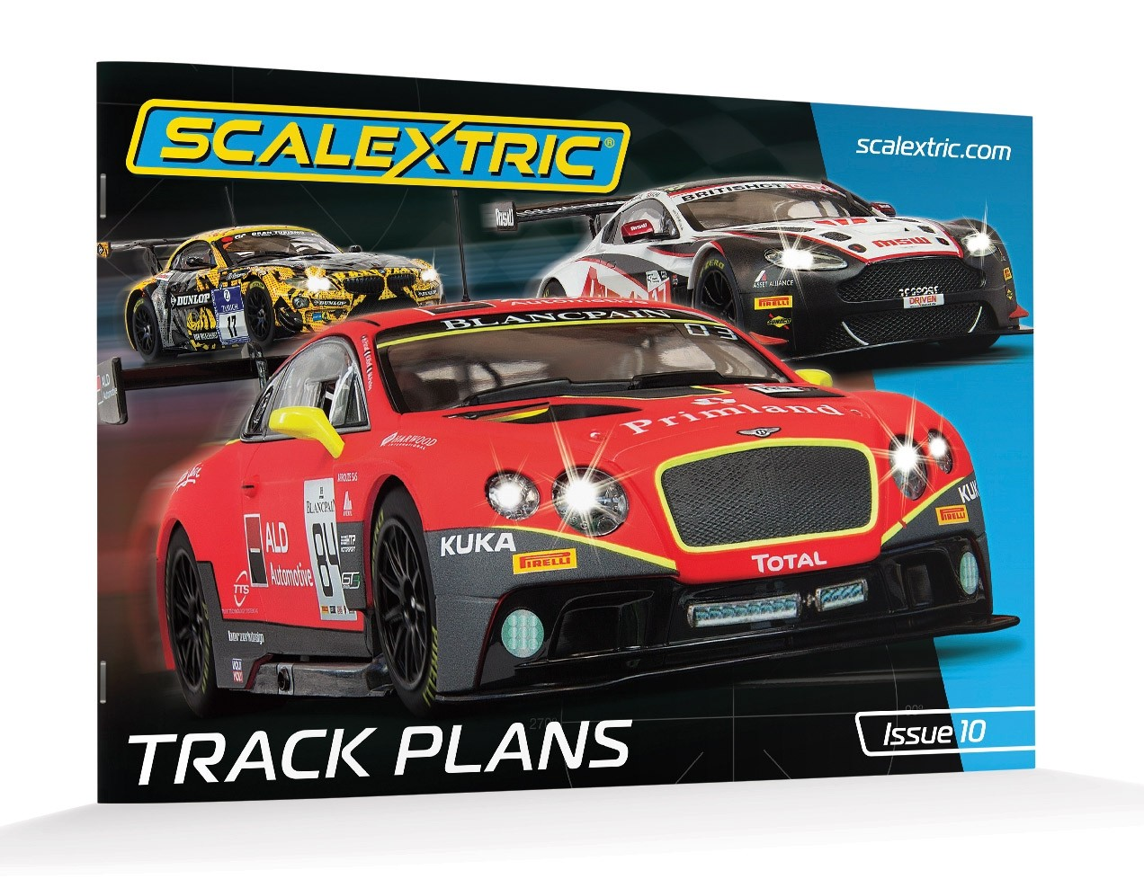 Scalextric C8334 Track Plans Book (10th Edition)---PRE-ORDER NOW!
