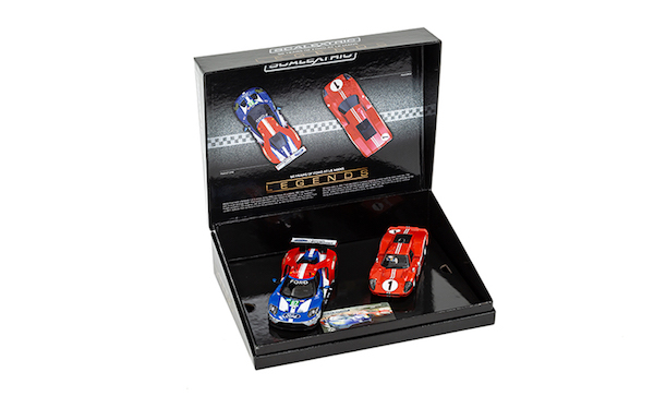 Scalextric Ca  Years Of Le Mans Ford Gt Mk Iv And Gte Limited