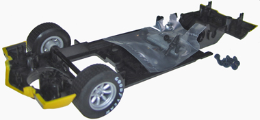 W10208 Chassis with front axle assembly for C3219 1970 Camaro