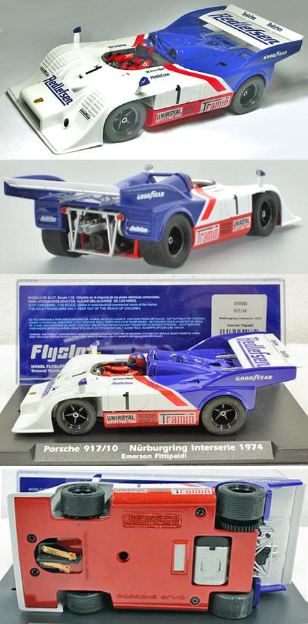 Fly 019101 Porsche 917-10, Interserie, Emerson Fittipaldi