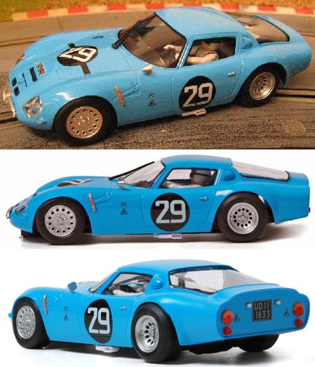 Fly 057103 Alfa Romeo TZ2, blue #29