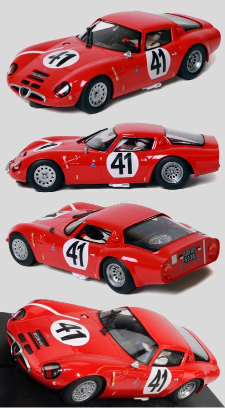 Fly 057304 Alfa Romeo TZ2, red #41