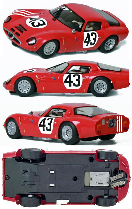 Fly 057306 Alfa Romeo TZ2, red #43