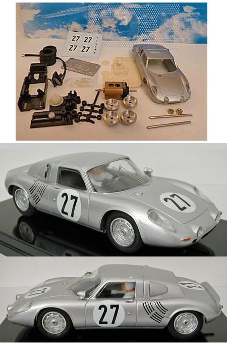 GMC09/3 Porsche 718 #27, LeMans 1963, painted complete kit