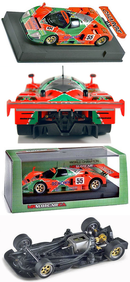 MRSlotcar MR1003 Mazda 787B 1991 LeMans winner