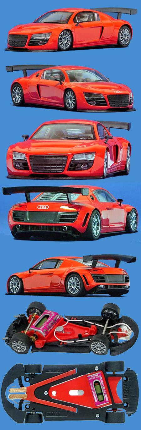 NSR 1086 Audi R8 GT, red