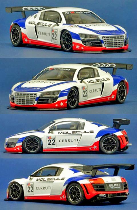 NSR 1090AW Audi R8 GT, United Autosports #22