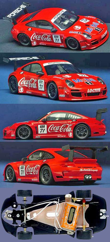 NSR 1099AW Porsche 997 Coca Cola