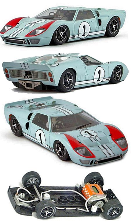 NSR 1115SW Ford MkII, gold #4, LeMans 1966