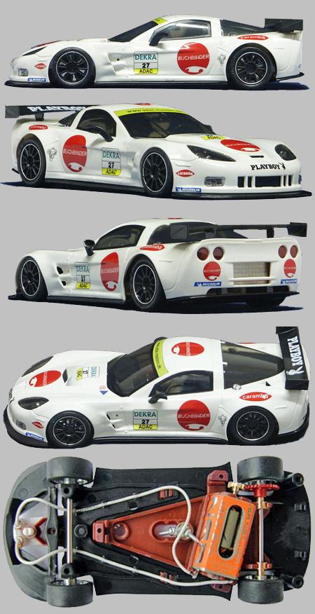 NSR 1117AW Corvette Z06R GT2 #27, ADAC Masters