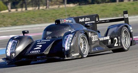 NSR 1120IL Audi R18, 2011 test car livery,#2