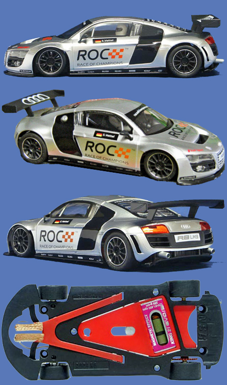 NSR 1121AW Audi R8 GT, Race of Champions