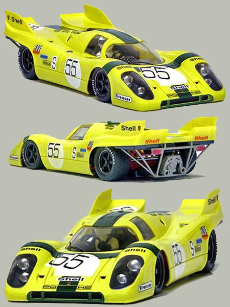 NSR 1137SW Porsche 917 Nurburgring 1971, yellow #55