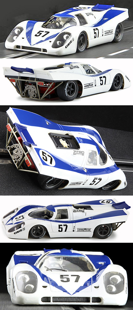 NSR 1152SW Porsche 917 LeMans 1971, white/blue #55