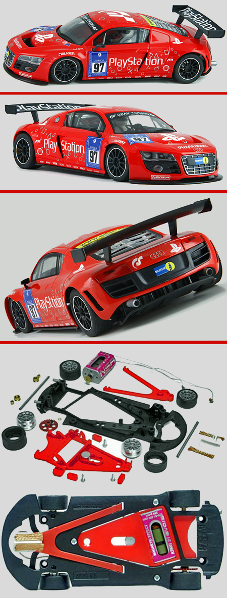NSR 1154AW Audi R8 GT #97, Playstation