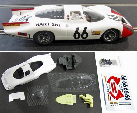 GMC12/01 Porsche 907 #66, painted body kit
