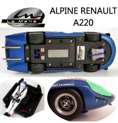 LeMans Miniatures 132044/27 Alpine-Renault A220 #27, LeMans 1968 - $118.99
