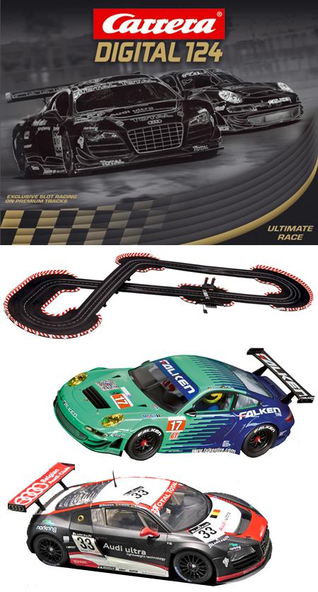 Carrera 23610 Ultimate Race race set, Digital 124