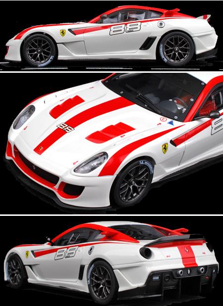 Carrera 23772 Ferrari 599XX, white, D124
