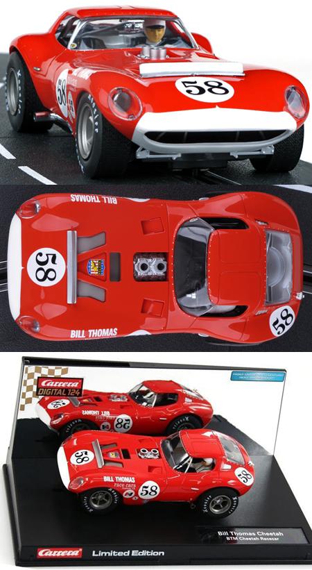 Carrera 23773 Cheetah, red #58, limited edition Digital 124