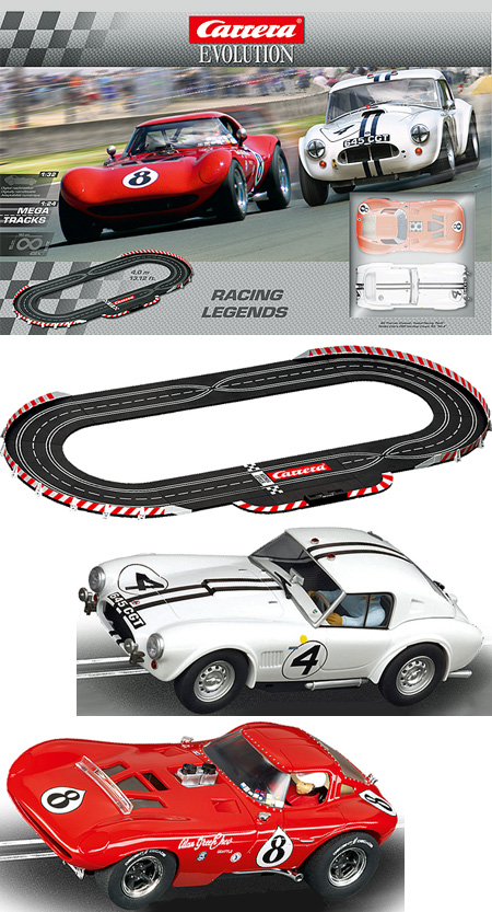 Carrera 25184 Racing Legends race set