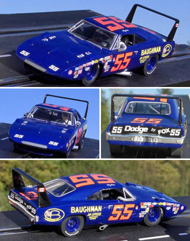 Carrera 27377 Dodge Charger Daytona, blue #55
