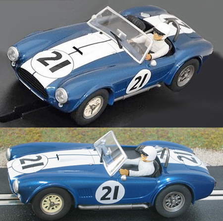 Carrera 27434 Cobra roadster, blue #21