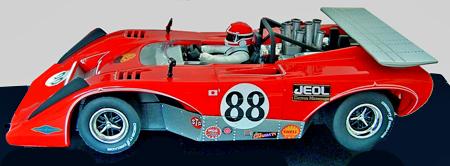 Carrera 27436 Lola T222 CanAm, Hiroshi Kazato 1971