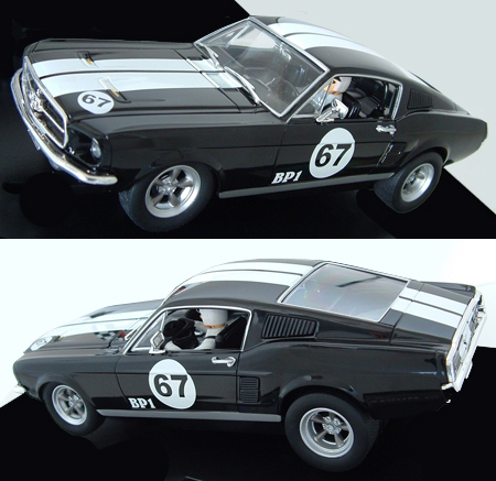 Carrera 27451 Ford Mustang fastback, black #67