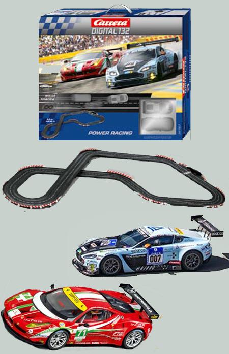 Carrera 30167 Power Racing race set, Digital 132